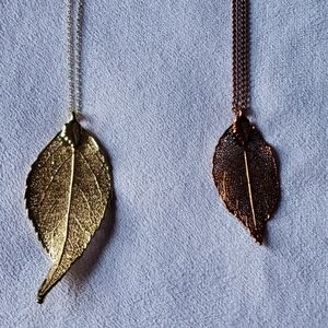 Jewelry - Leaf Necklaces